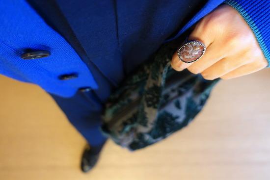 45Rタックドレス&カーデ&ブローチ (3)