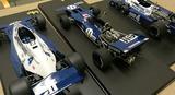 3台の「1:12 ティレル F1」