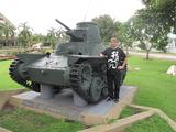 タイの九五式軽戦車