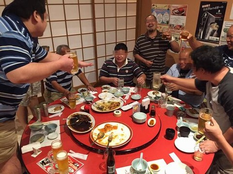 京都市嵯峨嵐山個室ゆったり忘年会新年会一人5000円以下中華料理コース飲み放題子供と一緒