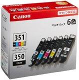 #7: Canon 純正 インク カートリッジ BCI-351(BK/C/M/Y/GY)+BCI-350 6色マルチパック BCI-351+350/6MP