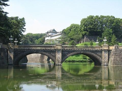 所謂皇居の正門の橋