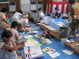 夏休み絵画教室