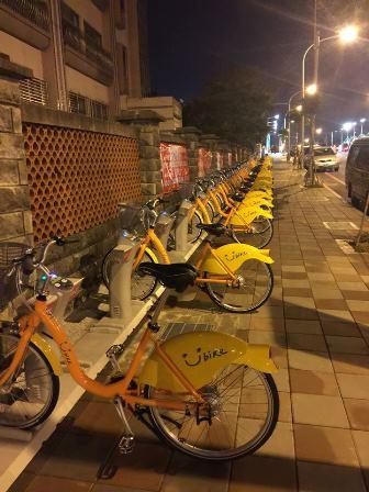 年越し台湾旅行記③自転車で地元体験