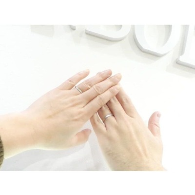 結婚指輪 プラチナ 鳥取市 T様 S様�