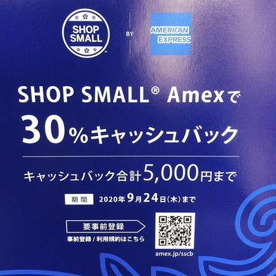 Amex30%キャッシュバックキャンペーンは明日まで💣💥💥