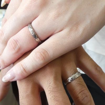 抜群の強度を誇る鍛造づくりの結婚指輪👫💞