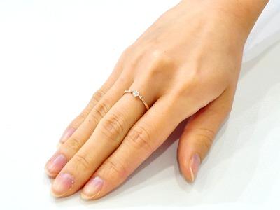 女性に人気のダイヤモンドリング