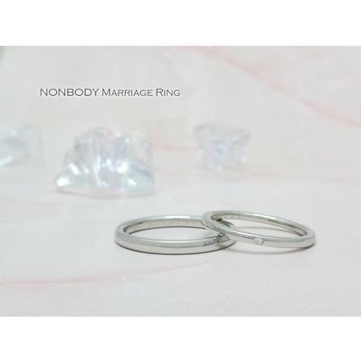 結婚指輪 鍛造プラチナ950 兵庫県豊岡市 孝太様 はるか様�