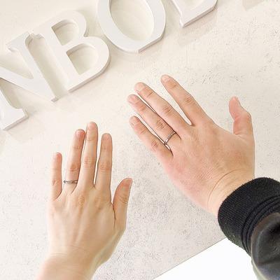 結婚指輪 タイムレスプラチナ950 鳥取県八頭郡 A様 K様�