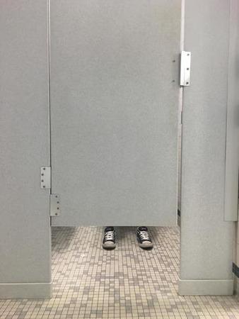アメリカの公衆トイレ