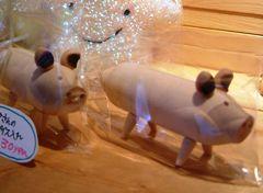 豚さんの調味料入れ