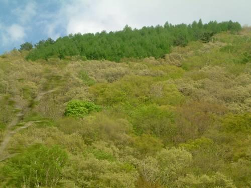 木曽谷・平沢付近
