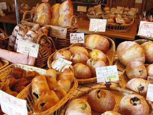 開店時のパン