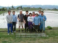 田植えチーム