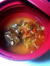 牛肉缶とキムチ炊き込み