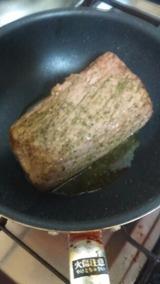 ローストビーフ焼く