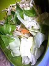 なべやきうどん野菜