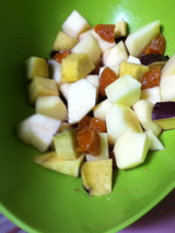林檎とさつま芋のワイン煮