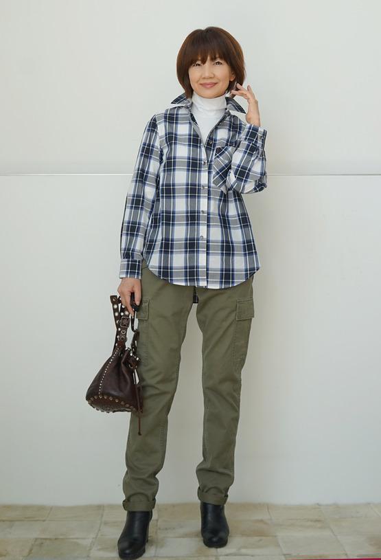 チェックシャツDSC09192