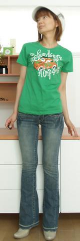 1 波乗りTシャツ 3900円