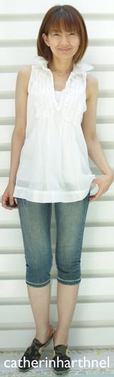 1 キャサリンのースリシャツ