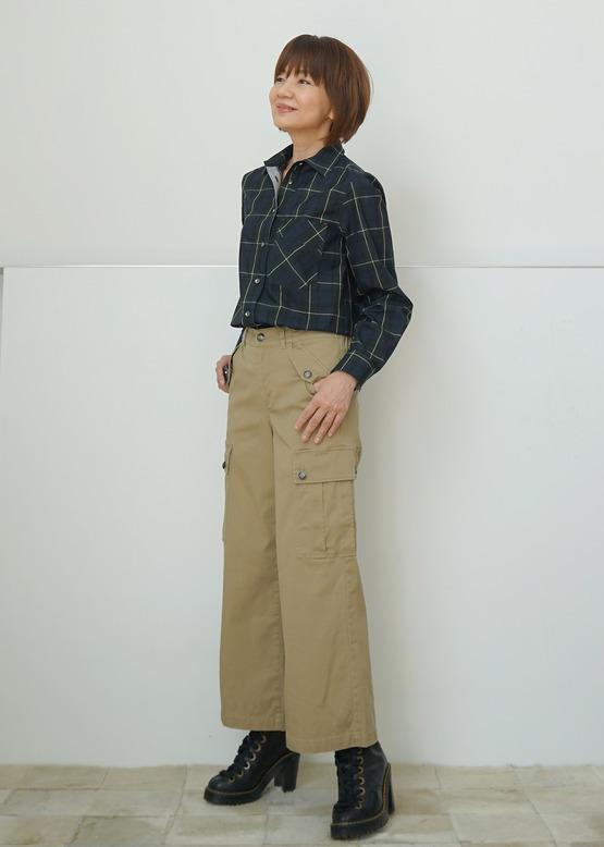 チェックシャツDSC09293