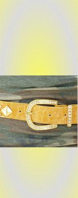 1 黄色ベルト 2900円