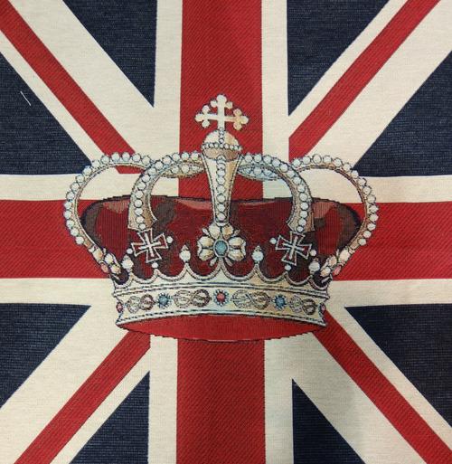 王冠とユニオンジャック