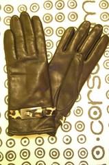 手袋 ハラコ ぶっち柄