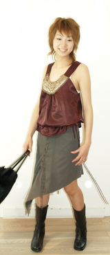13 REINACOUTUREスカート 12800円