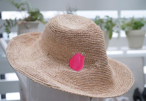 帽子チューリップ