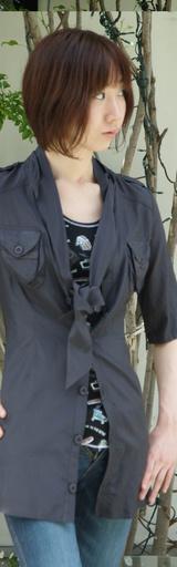 1 5のロングシャツ 16590円