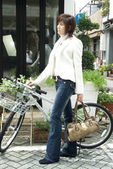1 iriseジャケット 白35000円