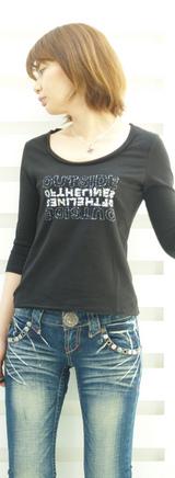 2 7部袖Tシャツ 9900円