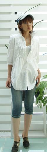 2 キャサリン白シャツ 可愛い〜〜〜