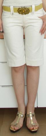 2 キャサリンハーネル シャイニーパンツ¥18375
