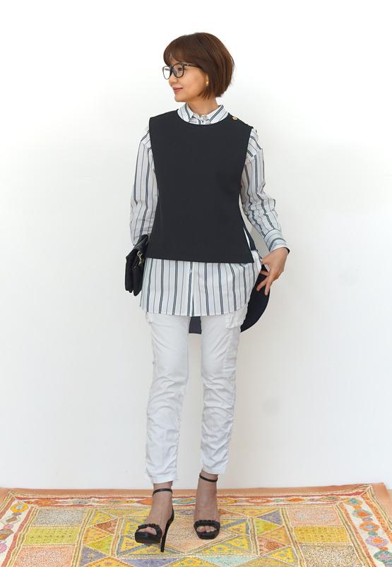 7ブラック ネイビーシャツ 40000688443