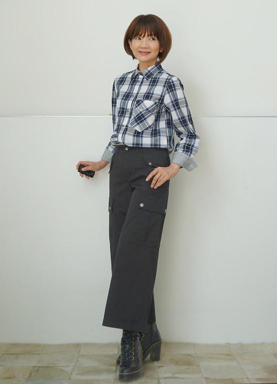 チェックシャツDSC09312