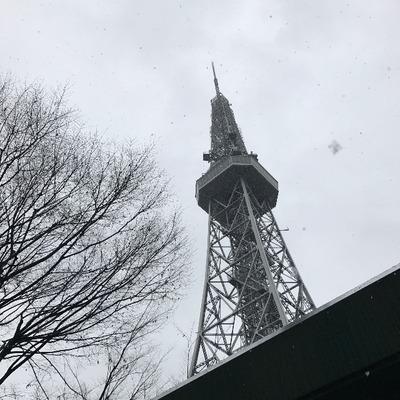 名古屋の雪に焦る [写記 vol.1349]