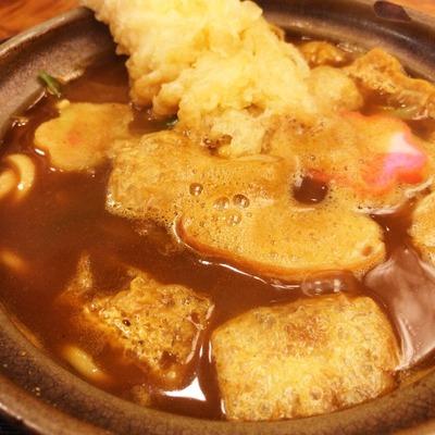 【みそ煮込 角丸(かどまる)】寒い日は煮込がいいよね!グツグツのうどんが美味しかった