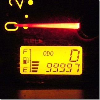 キリ番ゲッター! 99999 → 100000