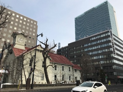 札幌二日目、唯一の観光は時計台 [写記 vol.1752]