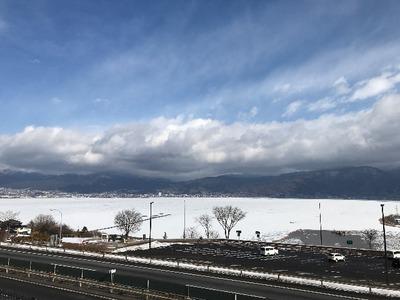 諏訪湖がキレイ! [写記 vol.1741]