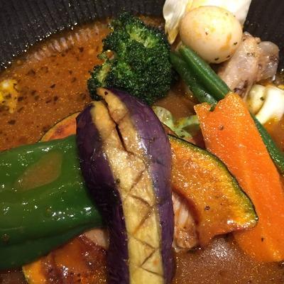 【lavi】野菜がゴロゴロ美味しかった!新千歳空港でスープカレーを食べたよ[北海道2016 夏 vol.6]
