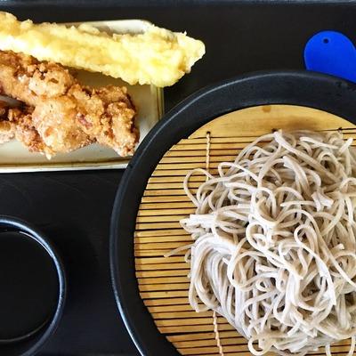 【そば処小木曽製粉所 松本駅前店】立ち食いセルフ式!気軽に美味しいお蕎麦を食べました