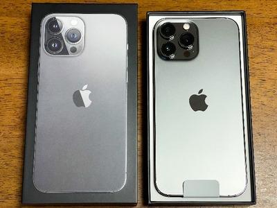iPhone13 ProMax 届きました!