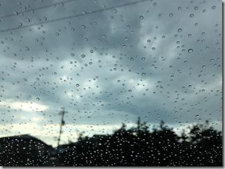 突然の雨 [写記 vol.817]