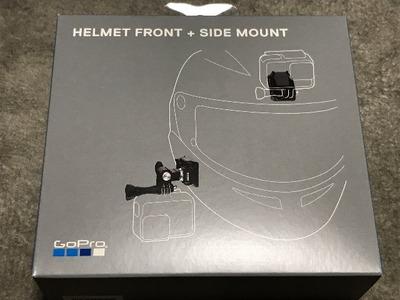 【GoPro】ヘルメット用マウントを買ってみました