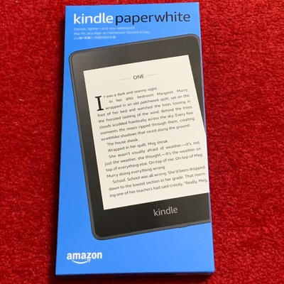 【Kindle Paperwhite】Newモデルを買った、たった一つの理由
